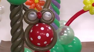 getlinkyoutube.com-Globoflexia-Como Búho con Globos para Fiestas - Hogar Tv  por Juan Gonzalo Angel