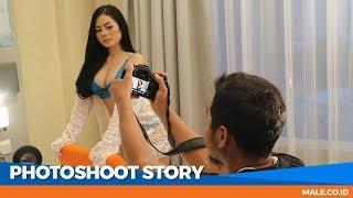 Seru! Behind the Scenes Photoshoot Model FIKA - Male Indonesia