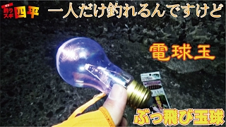 getlinkyoutube.com-簡単遠投サビキ自作の電球玉に堤防から俺だけ釣れた。