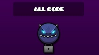 ALL SECRET VAULT CODES 1 | VAULT OF SECRET :  GEOMETRY DASH 2.1 (Missed Glubfub Sorry ;3;)