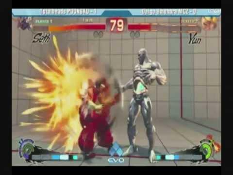 Evo 2k11 MCZ Daigo Umehara (Yun) vs Poongko (Seth) top 8