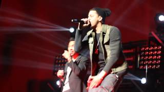 J. Cole ft. Miguel - Power Trip live @ Barclays