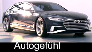 getlinkyoutube.com-Audi A9 Prologue Avant Concept with Wireless Charging - Autogefühl