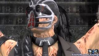 "getlinkyoutube.com-Mortal Kombat 9 ""Kabal Story Mode"" Chapter 13: Kabal Vs. Noob/Mileena & Cyber Sub + Sheeva"