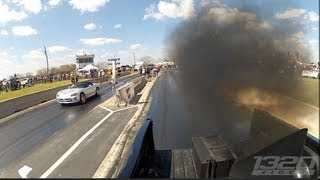 getlinkyoutube.com-TX2K13 - 1100hp Truck smokes Supercharged Viper