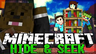 "getlinkyoutube.com-Minecraft HIDE AND SEEK ""BEST HIDING SPOT EVER"""