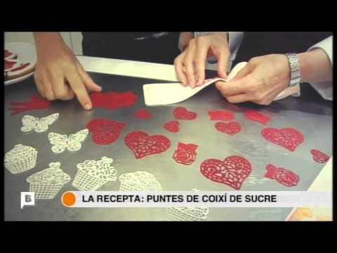 Cookiteca y Silikomart - Texturización de Fondant y Puntillas de Azúcar