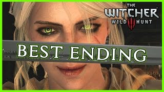 getlinkyoutube.com-Witcher 3 ► THE BEST ENDING - Ciri Becomes a Witcher, Triss Romance