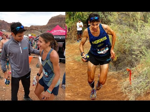 VLOG UPDATE: Moab Trail Marathon race report!