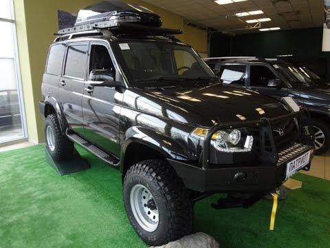 УАЗ Patriot Limited 2016 Тюнинг. Краткий обзор