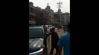 ALI BOXER REACHING FOOD STREET, BHATTI GATE LAHORE!!!