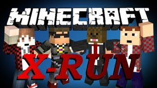 getlinkyoutube.com-Minecraft X-Run Minigame w/ SkyDoesMinecraft, BajanCanadian and MunchingBrotato