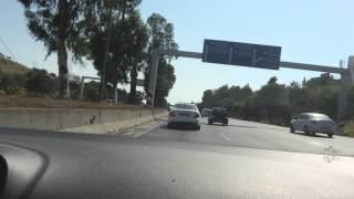 getlinkyoutube.com-Golf 6 R chasing Mercedes C63 AMG Alger