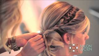 getlinkyoutube.com-Unique Up Style How To by Christen Swearengin of SALON LUCIEN