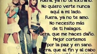 getlinkyoutube.com-RBD - Fuera (Letra)