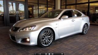 getlinkyoutube.com-2011 Lexus IS-F Start Up, Exhaust, and In Depth Tour