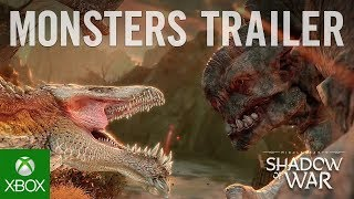 Middle-earth: Shadow of War - Monsters of Mordor Trailer