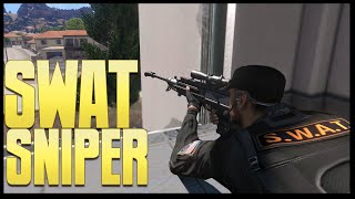getlinkyoutube.com-COPS - SWAT Sniper - (Altis Life RPG) (Arma 3)