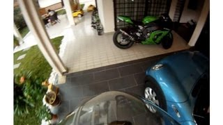 getlinkyoutube.com-2012 Kawasaki Ninja ZX10R Traction Control - wet mode