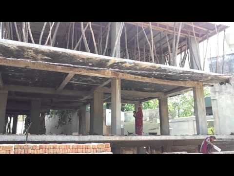 2013 May Vrindavan Dhama Project Construction Process