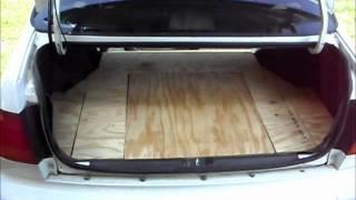 getlinkyoutube.com-How To Make A Custom 98' Civic Trunk Mat Pt.2