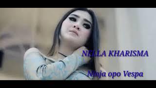 Ninja opo Vespa - Nella Kharisma || Lirik (music video)