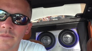 getlinkyoutube.com-BIGGEST BASS IVE SEEN IN A BMW!!