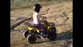 getlinkyoutube.com-Kid Quad, Kid Dirtbike, 49cc ATV Riding, NewAgeVehicles.com.au