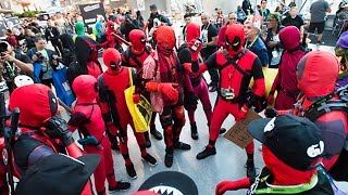 DEADPOOL PARTY at New York Comic Con
