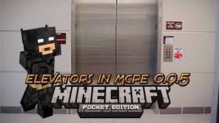 getlinkyoutube.com-How to make an Elevator in Minecraft Pocket Edition 0.12.1!!!!!!!!