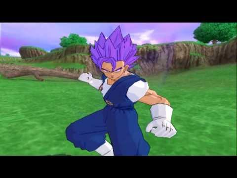 DBZ BT3 Wii Vegetrunks