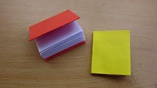 getlinkyoutube.com-How to Make a Paper Modular Mini Book - Easy Tutorials