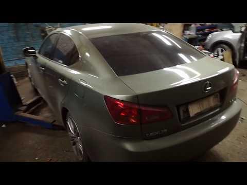 Диагностика и ремонт причины горящей лампочки ABS на приборной панели (Lexus ls250)