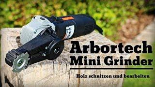 getlinkyoutube.com-Mini Grinder von Arbortech Holz schnitzen und bearbeiten