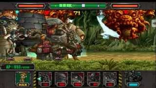 getlinkyoutube.com-Metal slug defense. WIFI!  8 BOSS Deck!!! (1.22.0 ver)