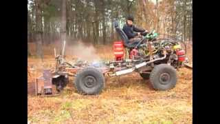 getlinkyoutube.com-Homemade Tractor 1 (Savadarbis traktorius)