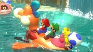 getlinkyoutube.com-Super Mario 3D World - World 4 (4-Player)