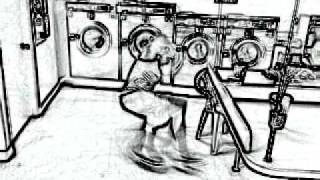 Toy dancing at the washroom