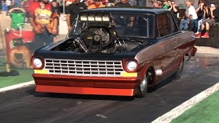 Big Tire Drag Racing - ORP Street Machine Shootout 2015