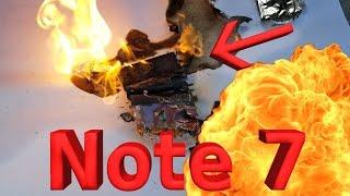getlinkyoutube.com-Note 7 Battery Explosion!! CAUGHT LIVE ON CAMERA!!