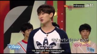 [ENG SUB] Mickey Mouse Club - Eunhyuk talks about Leeteuk