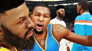 getlinkyoutube.com-NBA 2k15 MyCAREER Gameplay S2 - 100 POINT CHALLENGE! Bridges Dunking Again POSTERIZES Durant