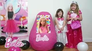 getlinkyoutube.com-NEW 2016 Barbie Life in the Dreamhouse Super Giant PINK Egg Surprise The Disney Toy Collector