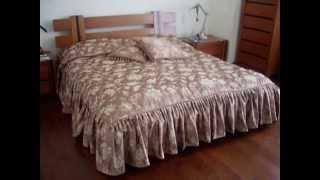 getlinkyoutube.com-Шторы и покрывало в спальню