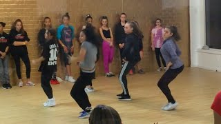getlinkyoutube.com-Maddie, Nia, Kalani, JoJo, and Kendall: Hip Hop combo: Justin Bieber Christmas Eve
