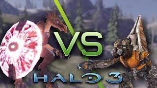 getlinkyoutube.com-Halo 3 AI Battle - Jackals vs Grunts