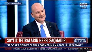 Süleyman Soylu, Habertürk TV Canlı Yayını 3. Kısım