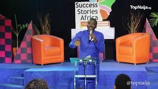 Bovi reveals how he made it big at TopNaija.ng's Success Stories Africa
