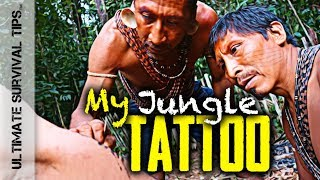 E3: How to Make a Jungle Tatoo + 7 Bug Out / Survival Tips - JUNGLE SURVIVAL