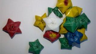 getlinkyoutube.com-cara membuat bintang dari sedotan plastik